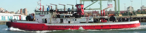 "FDNY's Fireboat ""Firefighter"""