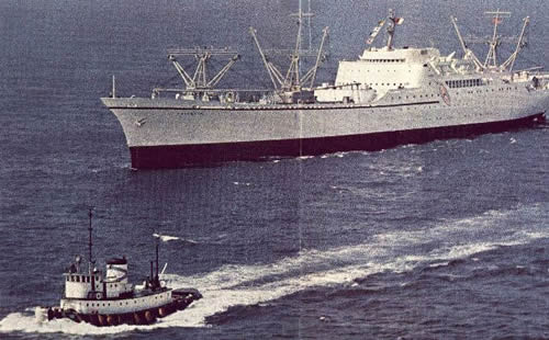 N/S Savannah underway
