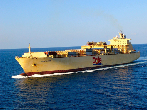 Banana Ship Dole Chile Interesting Ship Of The Week