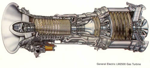 LM2500 Marine Gas Turbine Engine