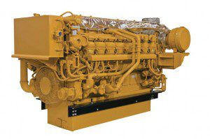 caterpillar marine engine DM 3500