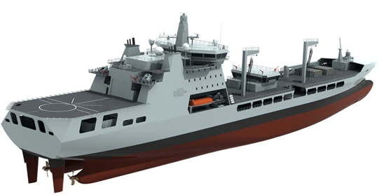 mars tanker royal fleet auxiliary