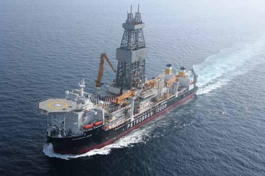 The Petrobas 10000 is one of Transocean's 10 rigs in Brazil.