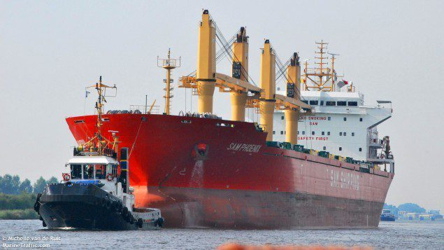 sam phoenix bulk carrier