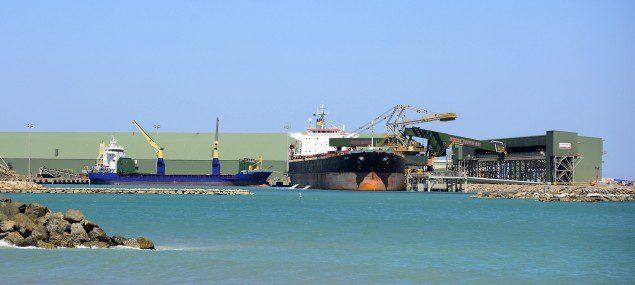 capesize iron ore australia geraldton
