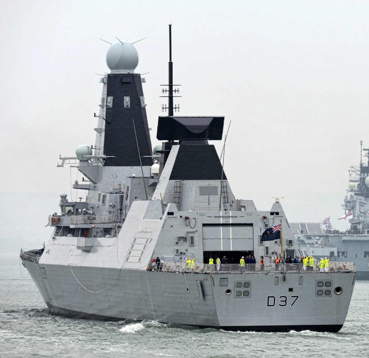 bae systems delivers sixth type 45 destroyer gcaptain