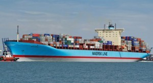 File photo of a U.S.-flagged MLL containership