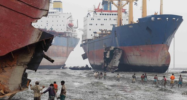 shipbreaking ship recycling scrapping