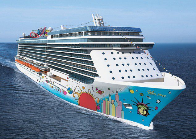 Illustration of the new Norwegian Breakaway. Photo courtesy NCL
