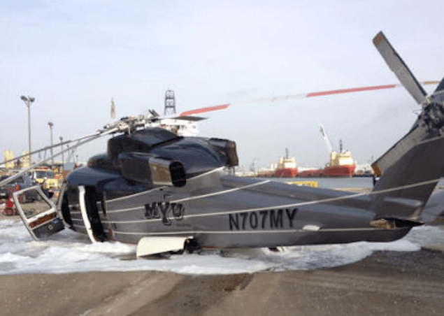 Offshore Helicopter Makes Hard Landing at Port Fourchon ...