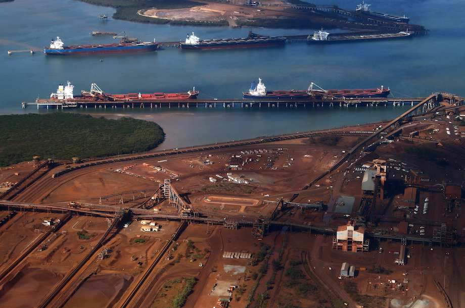 australia s port hedland iron ore exports Iron ore exports from australia's port hedland jump 36% on year in july - read this platts metals news article here plus discover more metals market news.