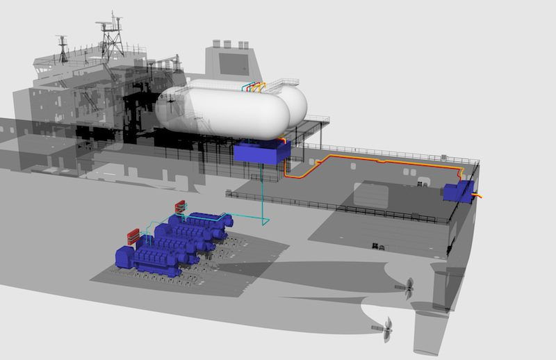 Tote Secures W 228 Rtsil 228 Technology For Orca Lng Conversions