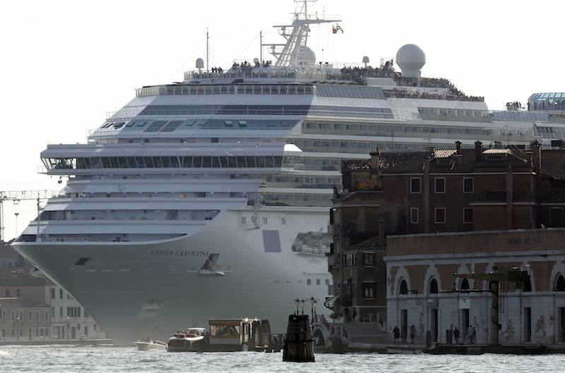 Italian Government To Ban Large Cruise Ships From Venice Lagoon Gcaptain
