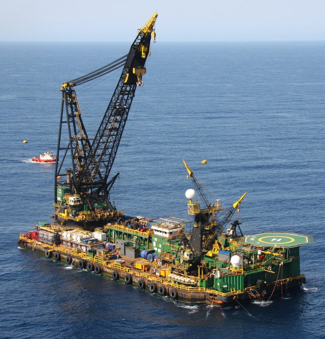 petronas hires mcdermotts db30 offshore indonesia