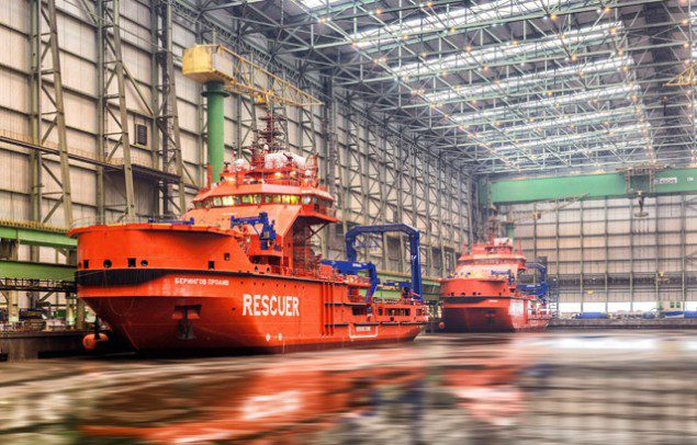 icebreaking support vessels nordic yards