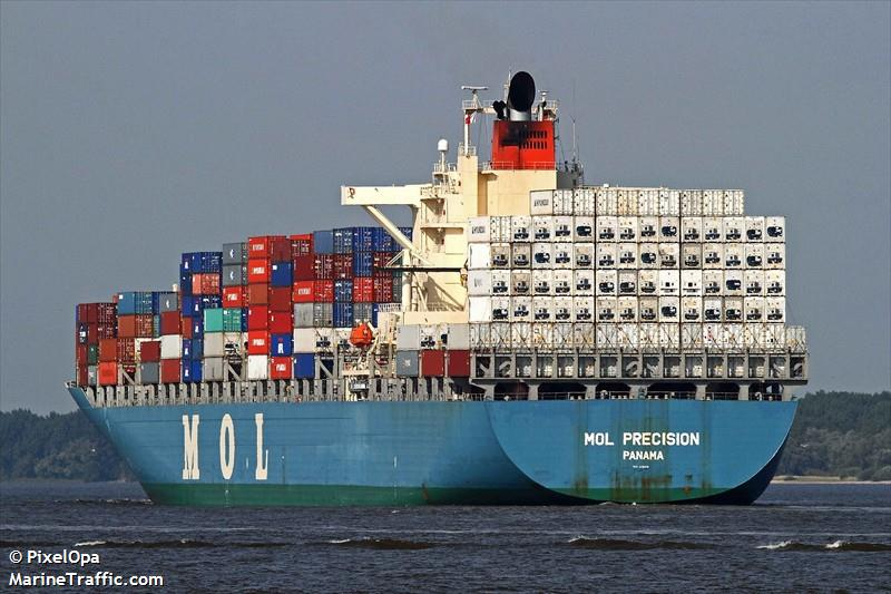 MOL Precision Containership Detained in Seattle - Maritime ...