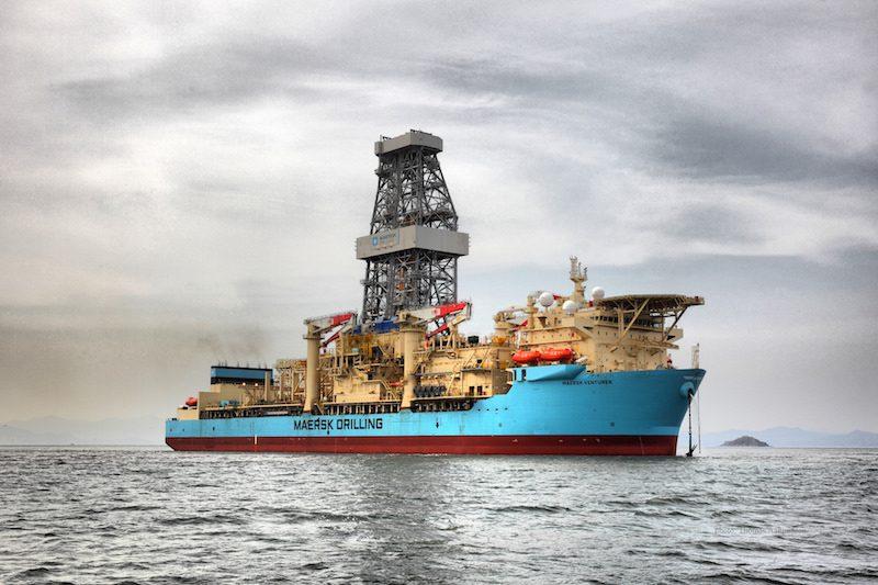 maersk drilling rig