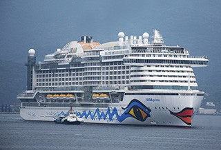 MHI Finally Delivers Delayed Aida Cruise Ship AIDAPrima GCaptain - Cruise ship delayed