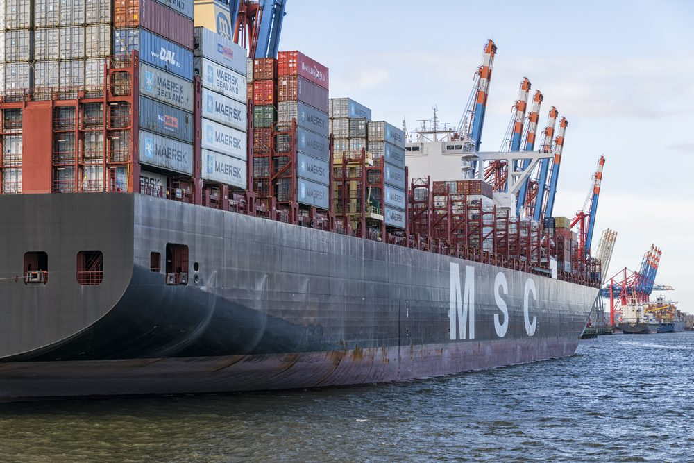 World's No. 2 Shipping Line MSC Stops New Bookings for Iran