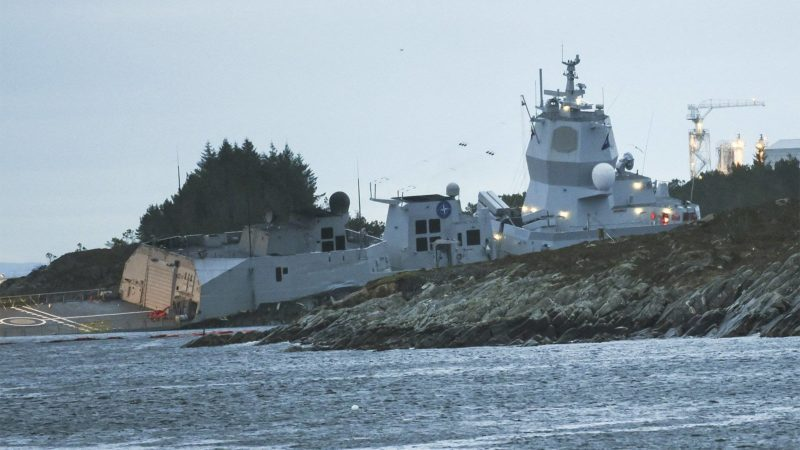 Norway Navy Ship Collision