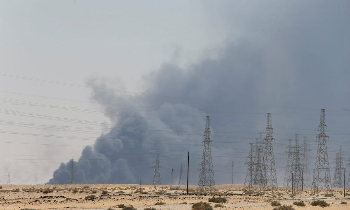 saudi oil attack Abqaiq