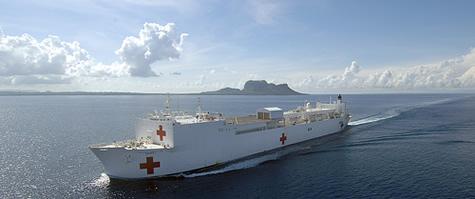 Hospital Ship Mercy