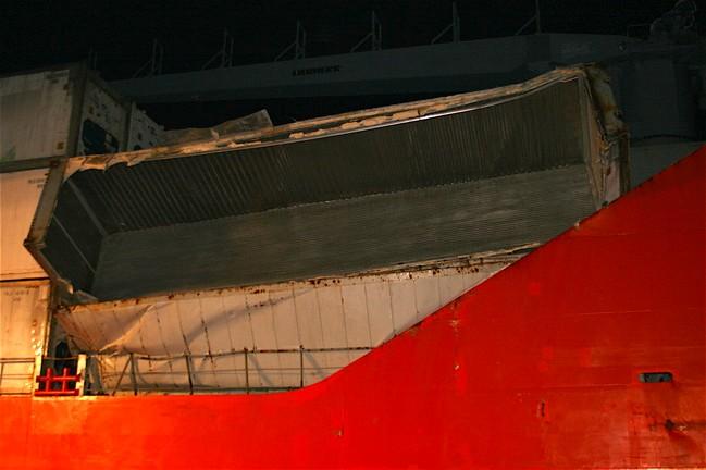 "Container Ship m/v ""Duncan Island"""