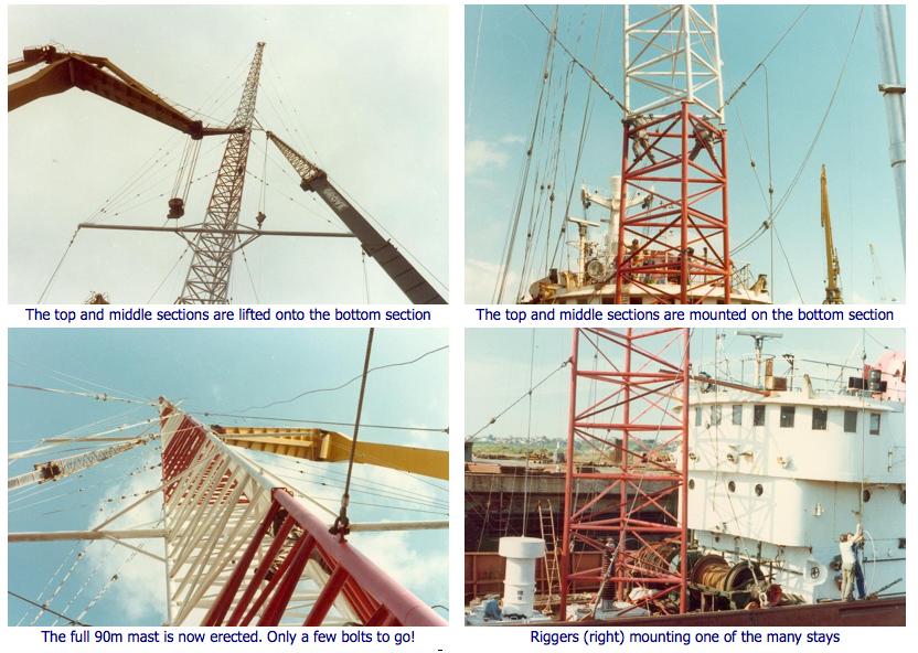 Building a ship antenna