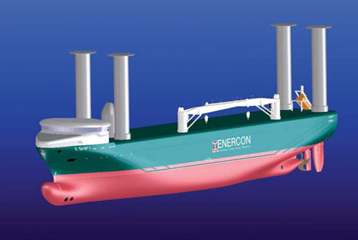 Wind Propulsion Vessel E-Ship 1