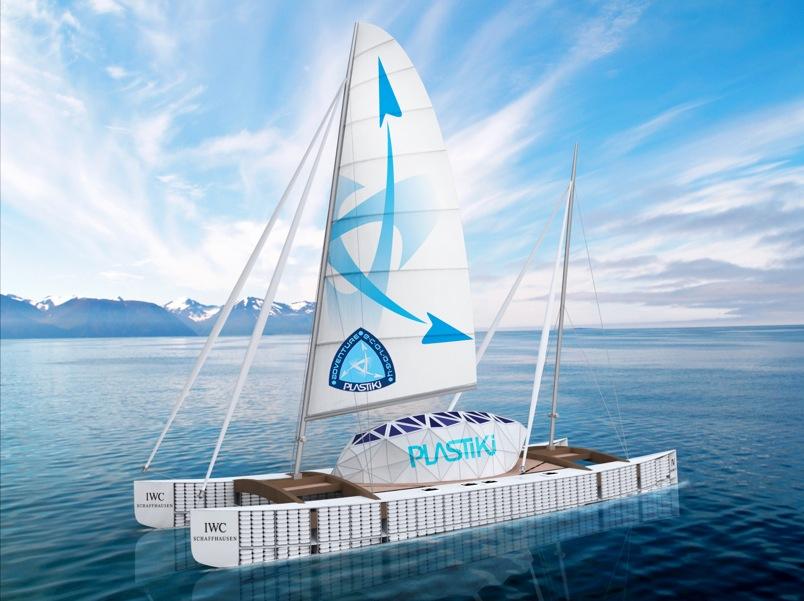 plastiki-recycled-bottle-boat