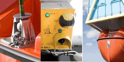 Nadiro Drop-In-Ball Lifeboat Davit System
