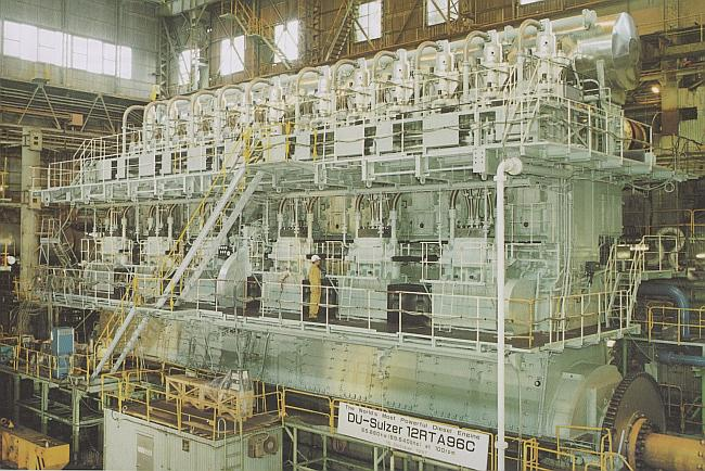 Emma Maersk's Wärtsilä-Sulzer Super Ship Engine – Part 2