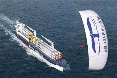 The 433 ft long MS