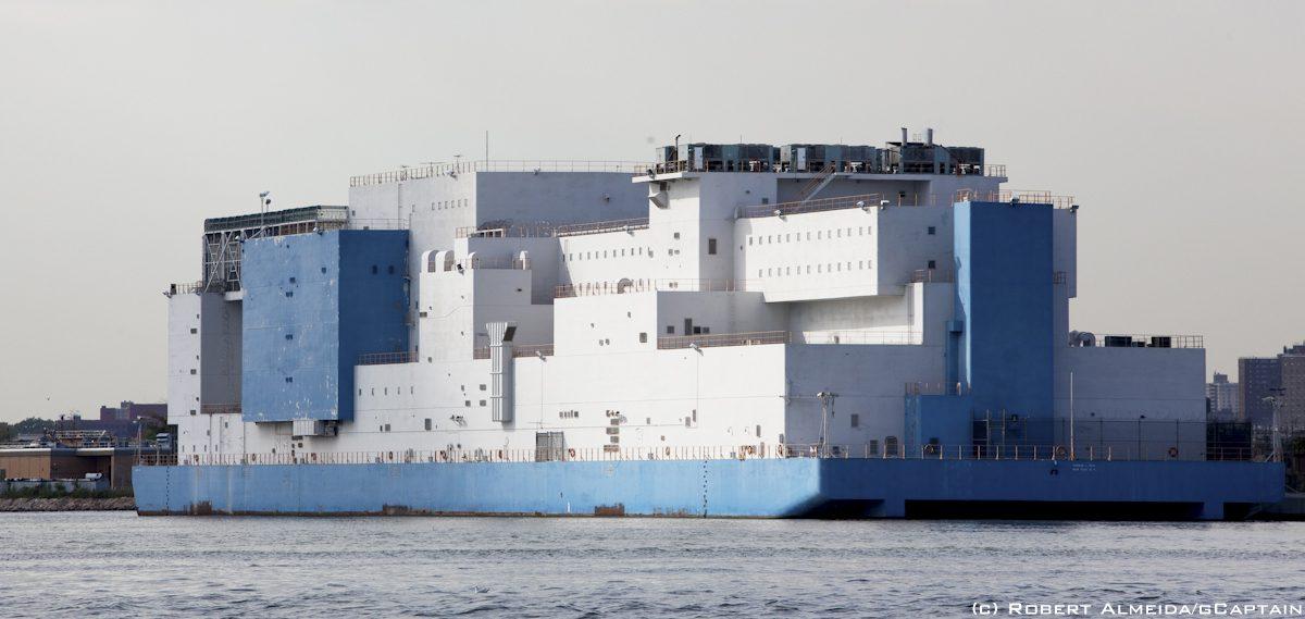 new york city prison barge