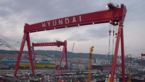 Hyundai Shipyard Crane