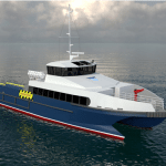 Incat Crowther to design second 28m catamaran crew boat
