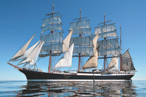 World's Largest Sailing Ship, Russian Barque Sedov
