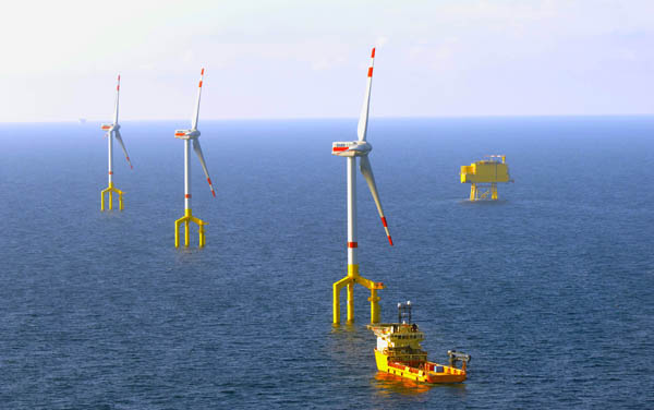 BorWin Alpha ABB offshore wind
