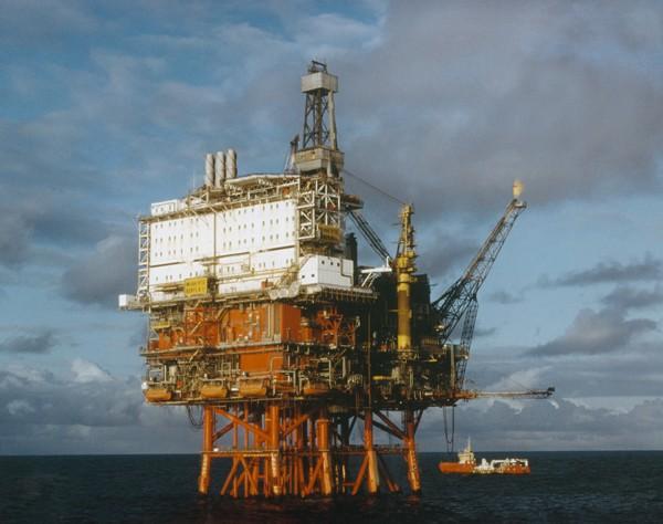 ExxonMobil Beryl B platform