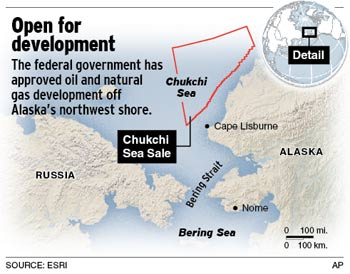 Chuckchi Sea Shell arctic drilling