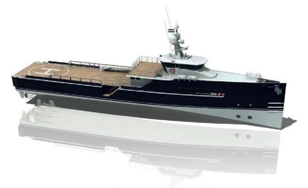 Sea Axe Damen shipyards