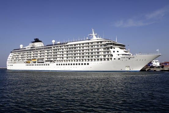 South Korea Cruise Ship