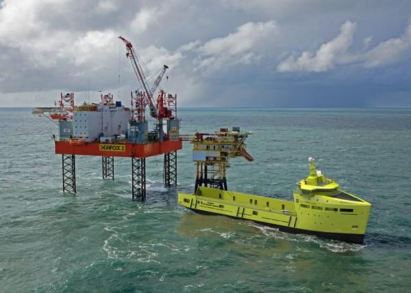 Damen PSV 3300 CD platform supply vessel