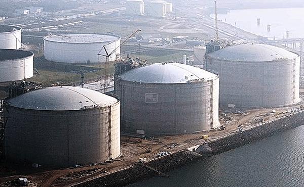 LNG terminal rotterdam