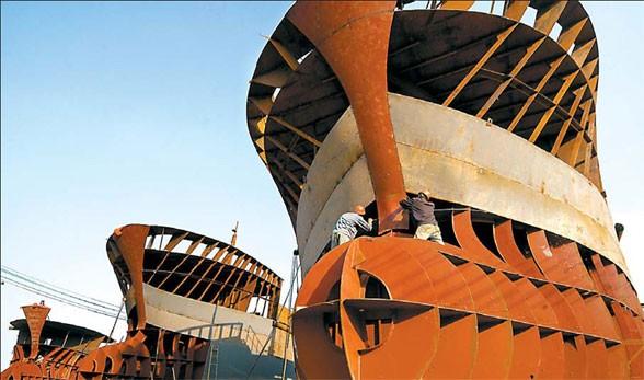 shipbuilding steel ship shipyard structural