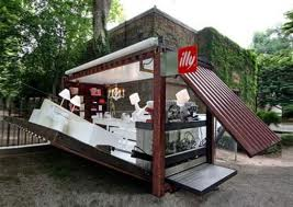 coffee shop shipping container