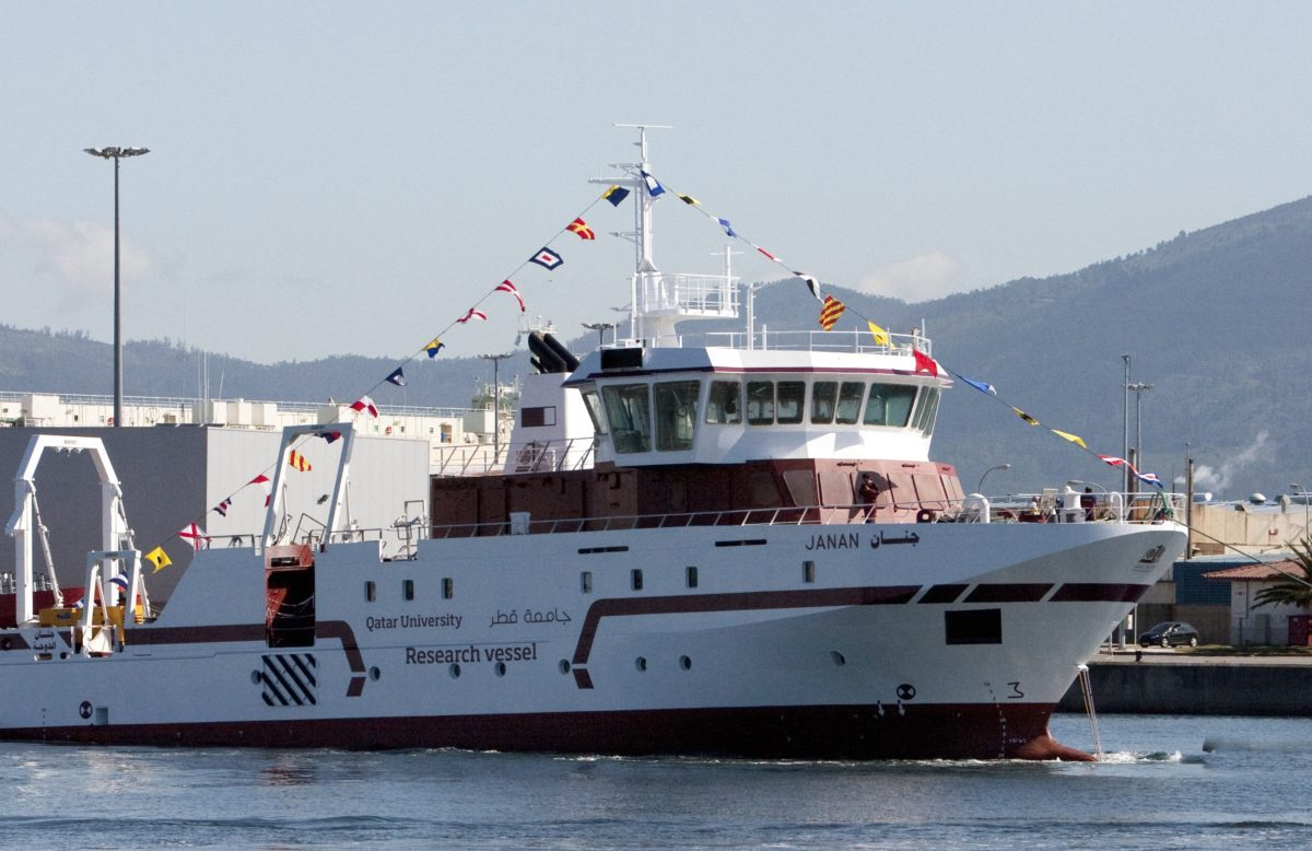 Qatar 's Janan Research Ship