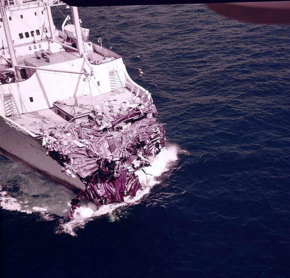 cruise ship stockholm collision andrea doria