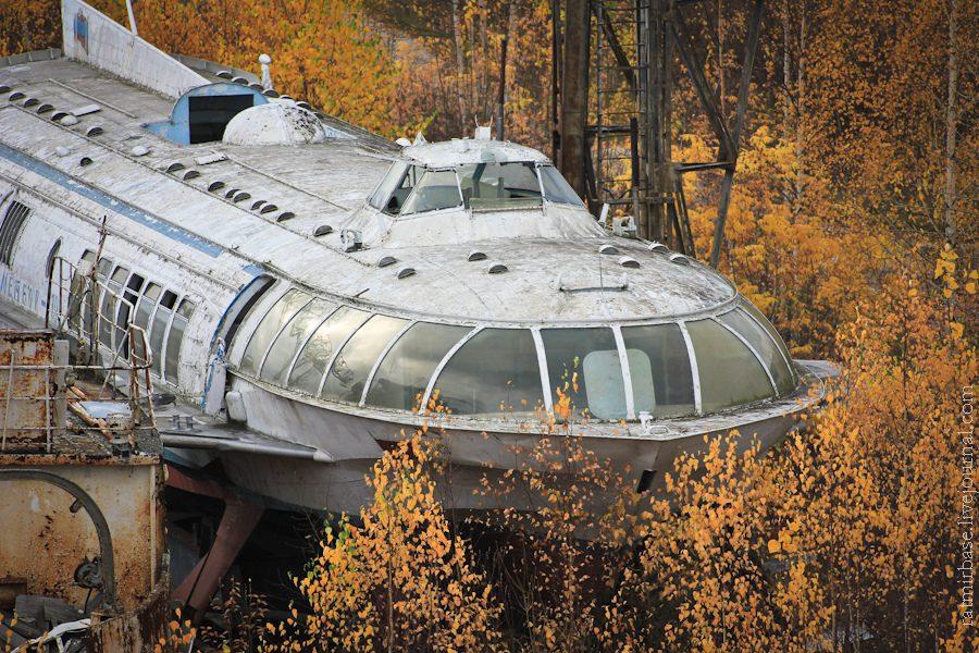 spaceship hydrofoil