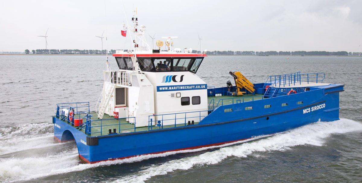 maritime craft services twin axe damen